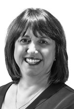 Black and White Photo, Search Consultancy, Main Board of Directors, Debbie Caswell, Chief Operating Officer
