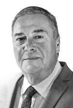 Black and White Photo, Search Consultancy, Main Board of Directors, Grahame Caswell, Chief Executive Officer