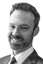 Black and White Photo, Search Consultancy, Main Board of Directors, Stuart Dick, Finance Director