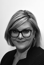 Black and White Photo, Search Consultancy, Executive Board, Kate McClorey, Managing Director of Technology & Transformation