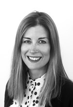 Black and White Photo, Search Consultancy, Executive Board, Katherine Tiddy, Managing Director for Commerical