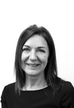 Black and White Photo, Search Consultancy, Executive Board, Kathryn Boyd, HR Director