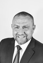 Black and White Photo, Search Consultancy, Executive Board, Mike Bower, Managing Director for Technical & Engineering