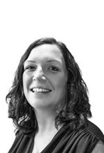Black and White Photo, Search Consultancy, Executive Board, Janine Owen, Marketing & Communications Director