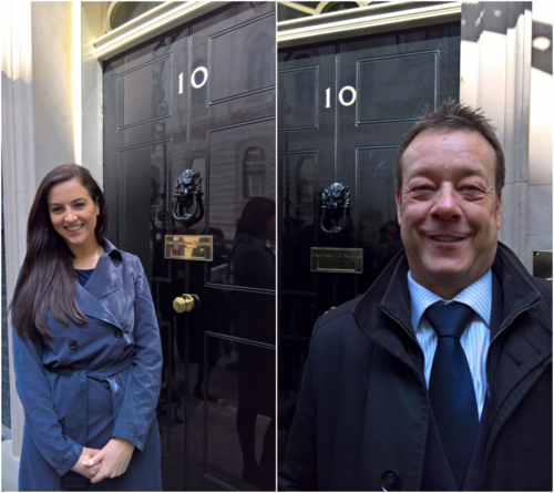 Swanstaff Recruitment visit downing street