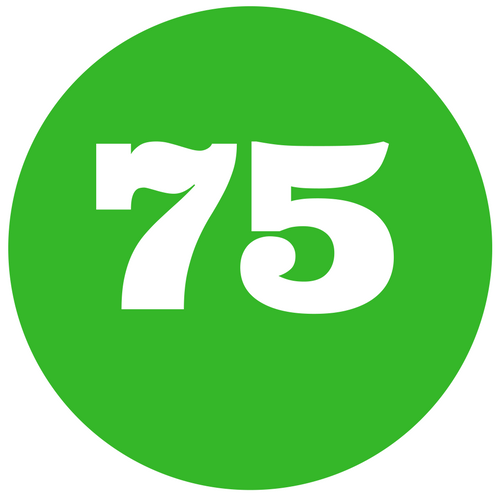 Our Net Promoter Score is 75