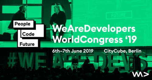 We Are Developers World Congress 2019 Berlin