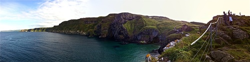 Küstenlandschaft in Nordirland - Leben und Arbeiten im Ausland