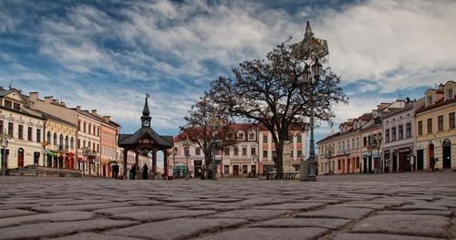 Altstadt in Polen - Leben und Arbeiten im Ausland