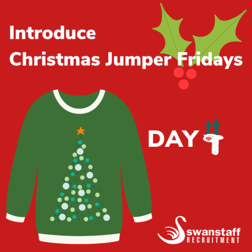 introduce christmas jumper fridays to your company