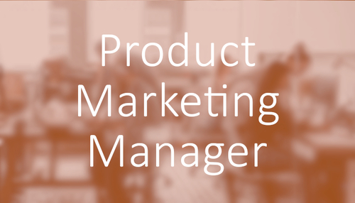 Software & Technology Marketing Jobs - Product Marketing Manager Job
