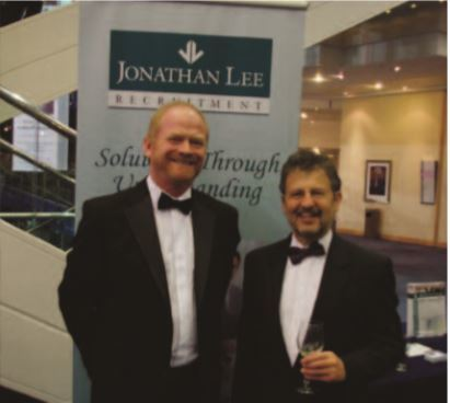 James Billingham of TMETC and Jonathan Lee, Chairman