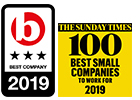 Thorn Baker Group_Sunday Times Top 100_Best Companies 3 Star