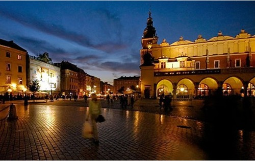 Krakow city in Poland - Shops in Poland