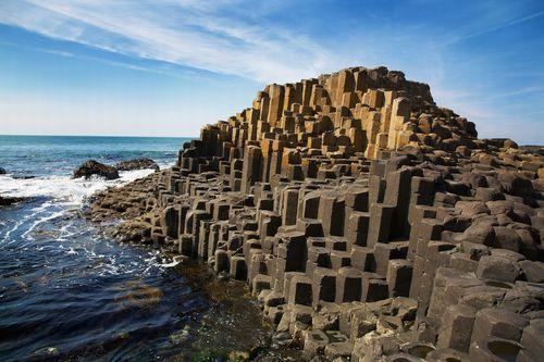Giant's Causeway in Nordiralnd - Leben und Arbeiten im Ausland