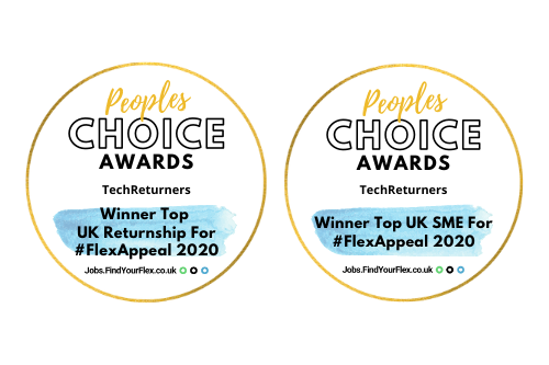 People's Choice awards, Tech Returners, Top returner programme and top SME for flex appeal