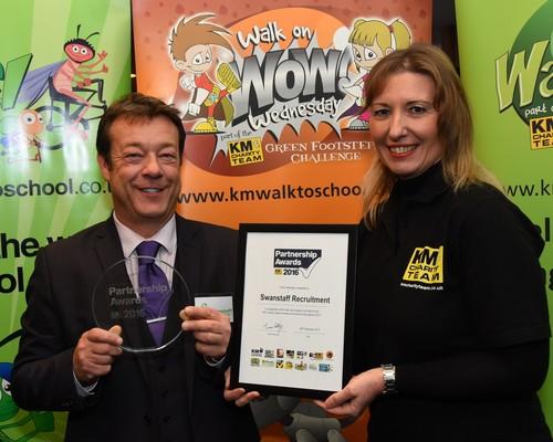 Stephen Rogers awarded KM partnership award