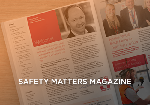 safety matters magazine