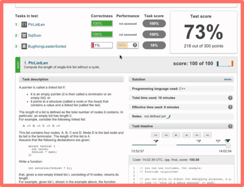 Live coding exercise image