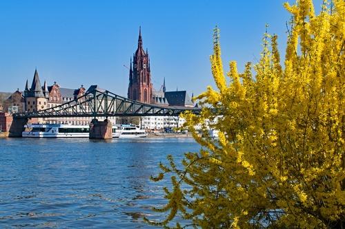 Architektur von Frankfurt - Leben und Arbeiten in Deutschland