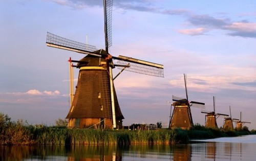 Windmills in the Netherlands - Dutch windmills