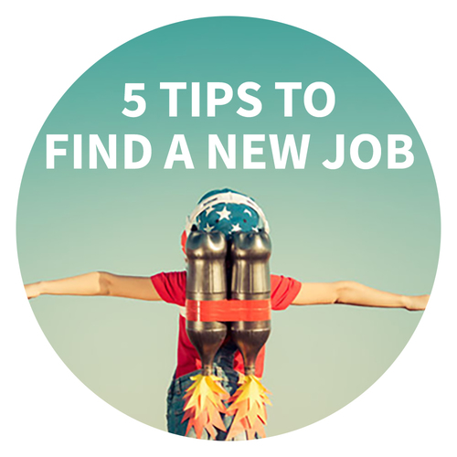 5 tips to find a new job