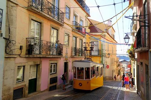 Lissabon - werken in Lissabon