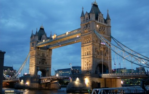 London bridge in London England