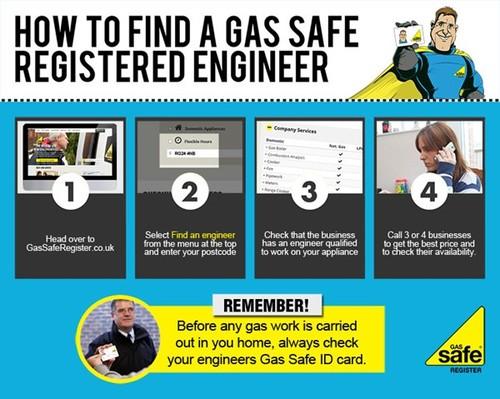 Thorn Baker EFM How to Find a Gas Safe Registered Engineer