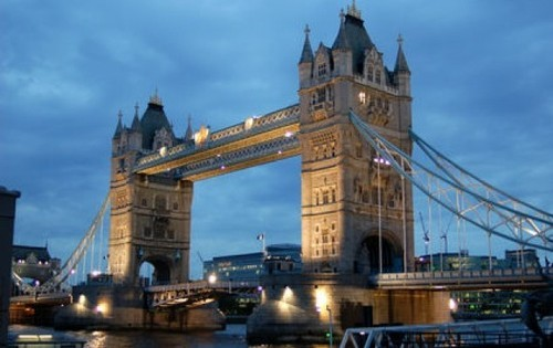 London Bridge - werken in Engeland