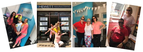 Hewett Recruitment supporting Sight concern on Bright for Sight Day