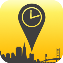 Clock location pin