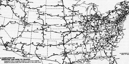 The US Interstate Highway System - $459bn