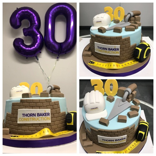 Thorn Baker Construction Bristol Branch Cake
