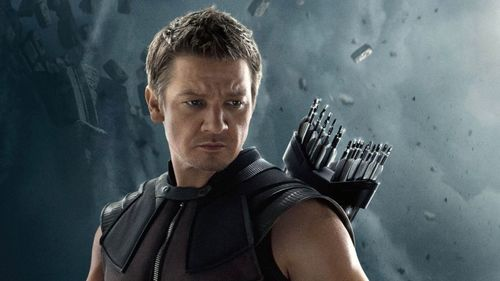 Hawkeye in The Avengers End Game