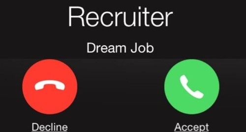 Dream job calling