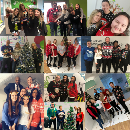 swanstaff's christmas jumper days 2019