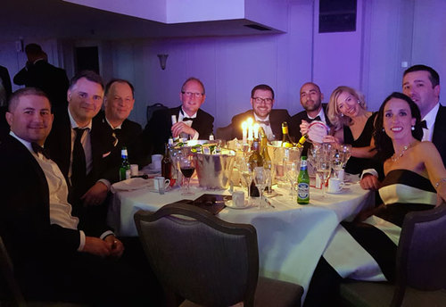 The MERJE table at the Credit Awards 18