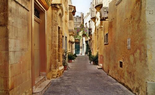 Altstadt von Malta - Leben und Arbeiten in Ausland