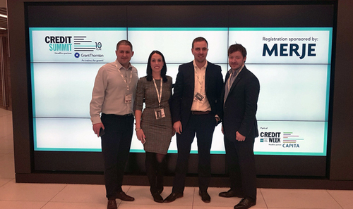 The MERJE team at the Credit Summit