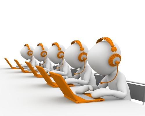 Druk aan het bellen - werken in het buitenland