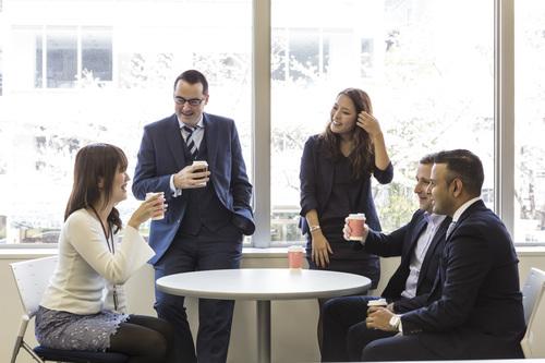 RGFのグローバルな職場環境