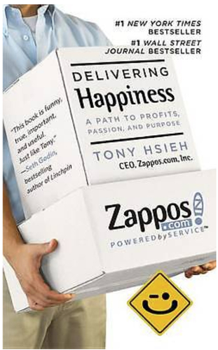 Tony Hsieh's Delivering Happiness is about more than just a delivery company. It's about a working culture.