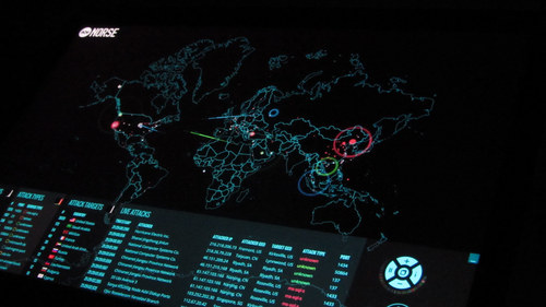 Cyber security map