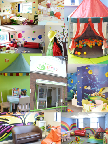 Themed Rooms at Swan Family Contact Centres