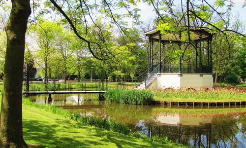 Het Vondelpark - werken in Nederland