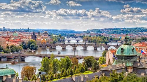 Landschaft in Tschechien - Leben und Arbeiten im Ausland