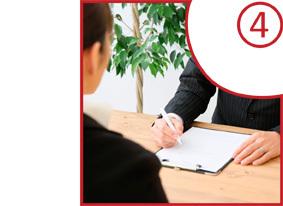 お仕事ご紹介サービスのプロセス4-採用企業との面接