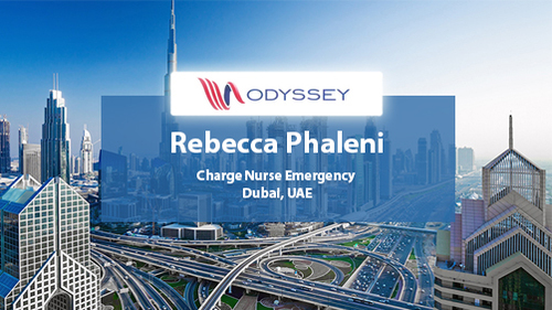Case Study Rebecca Phelani Charge Nurse Emergency Department UAE