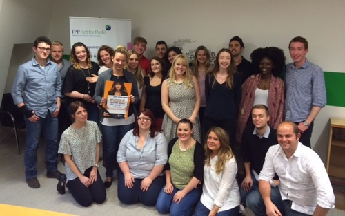 TPP staff Stand Up to Cancer